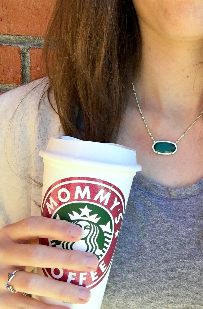 Moms Coffee Starbucks Mug