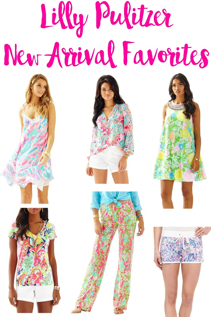 Lilly Pulitzer New Arrival Favorites