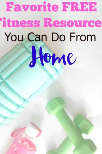Favorite Free Fitness Resources You Can Do At Home