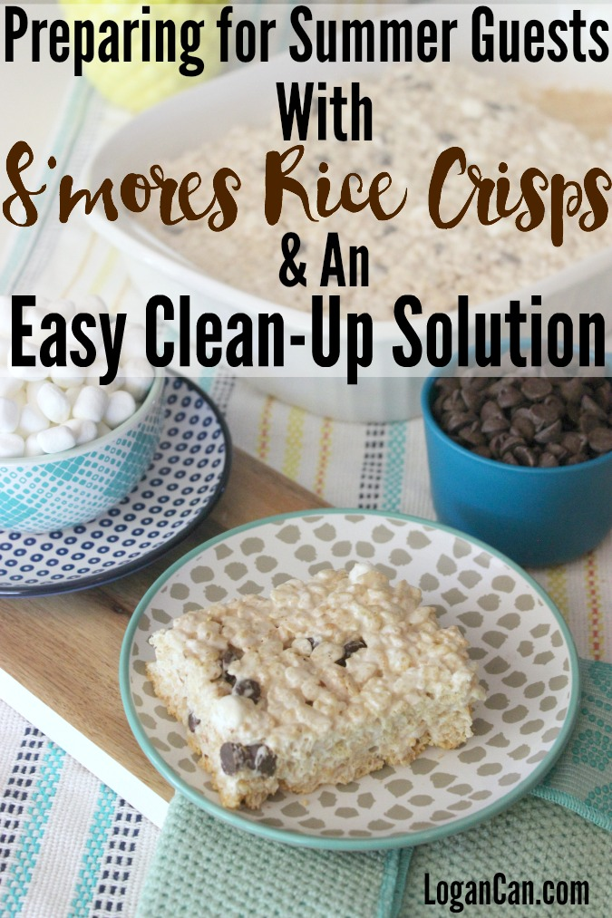 S'mores Rice Crisps