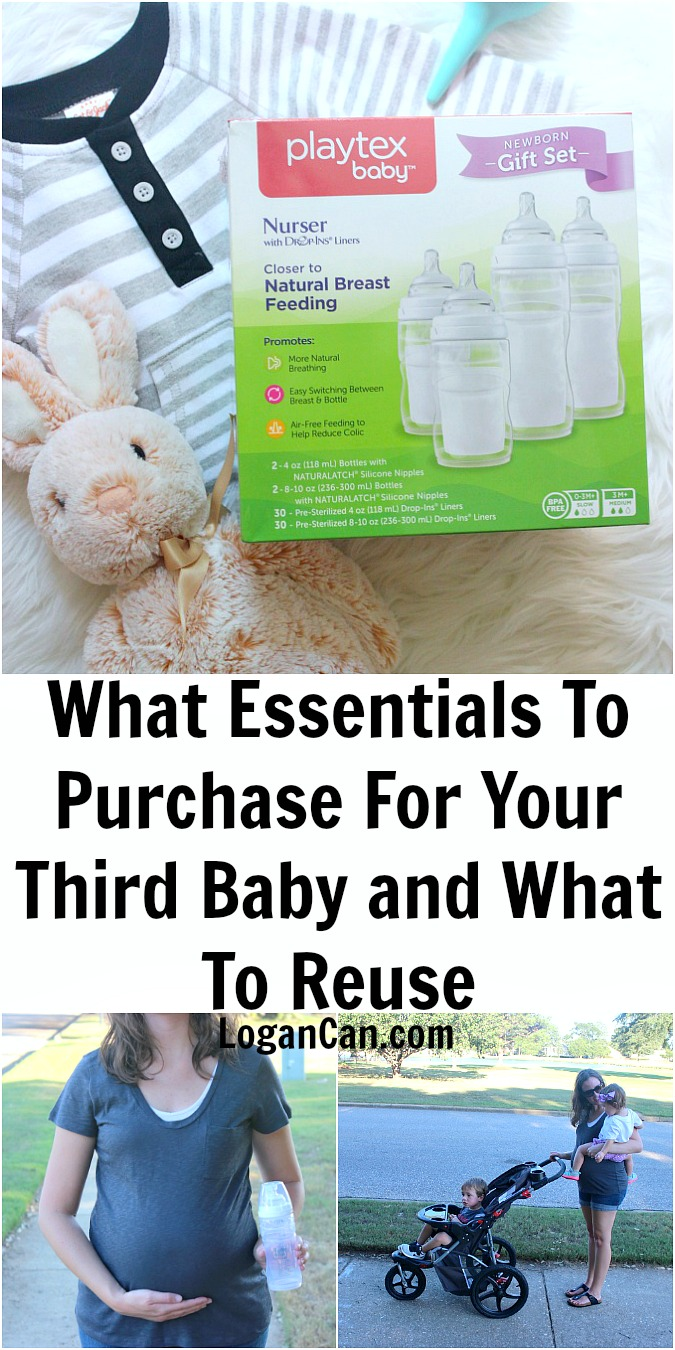 What Essentials To Purchase For Your Third Baby