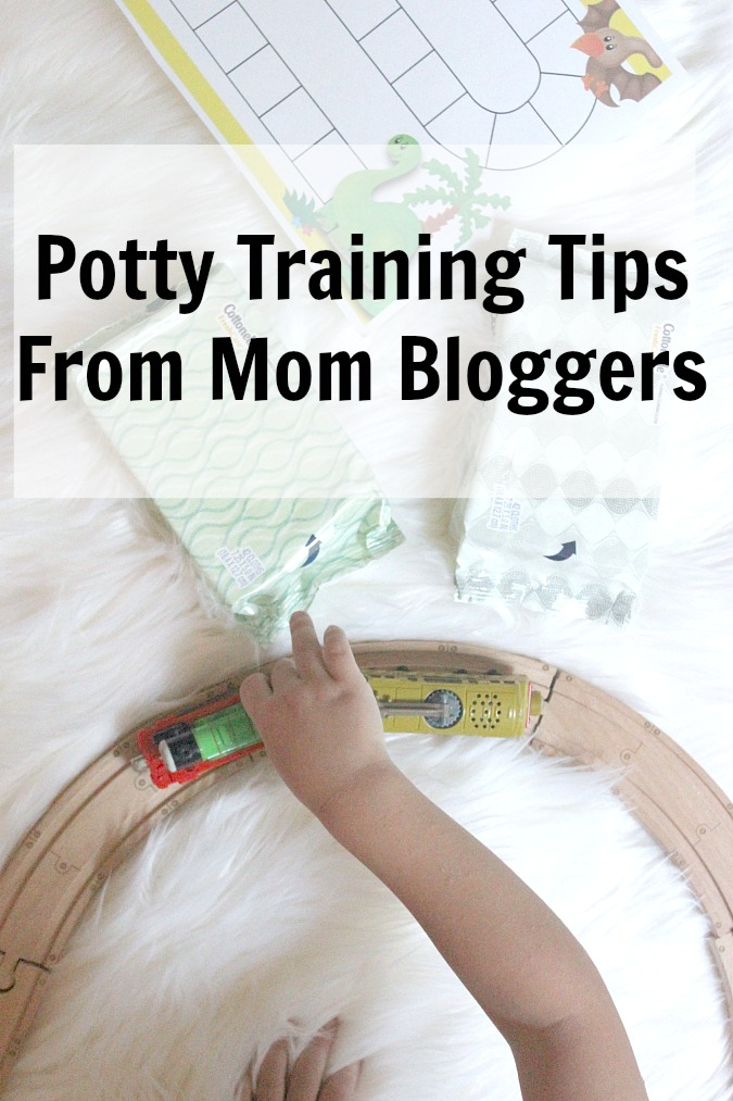 Potty Training Tips From Mom Bloggers