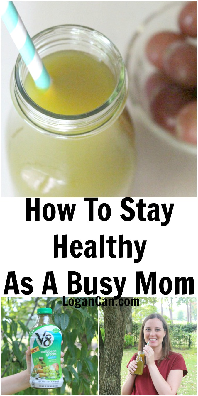 How to Stay Healthy as a Busy Mom