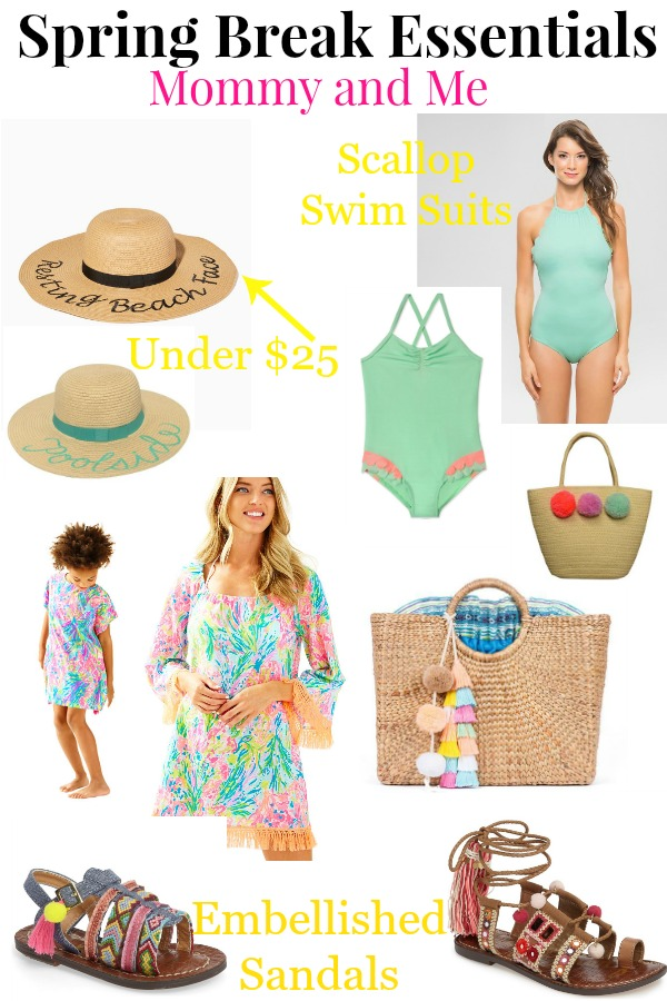 Spring Break Essentials - Mommy and Me LoganCan.com