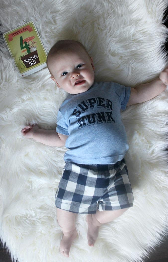 Weston at 4 Months