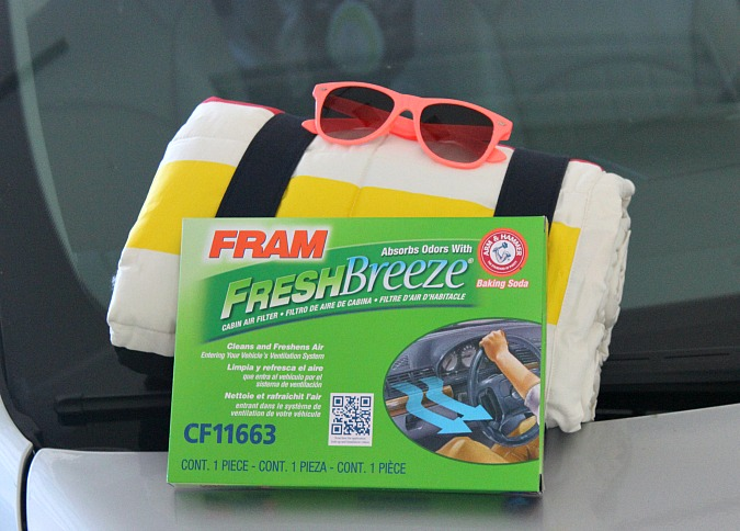 FRAM Fresh Breeze Air Filter