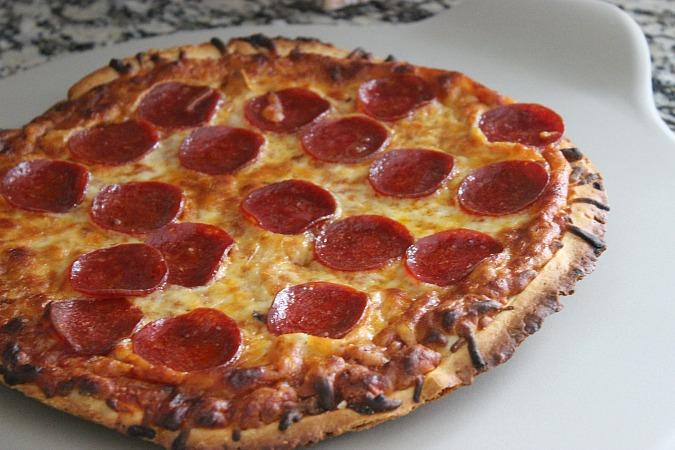 Motherhood War Story Pizza Night with Red Baron