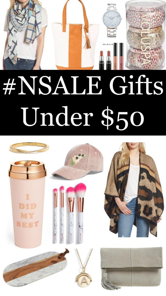 #NSALE Gifts Under $50