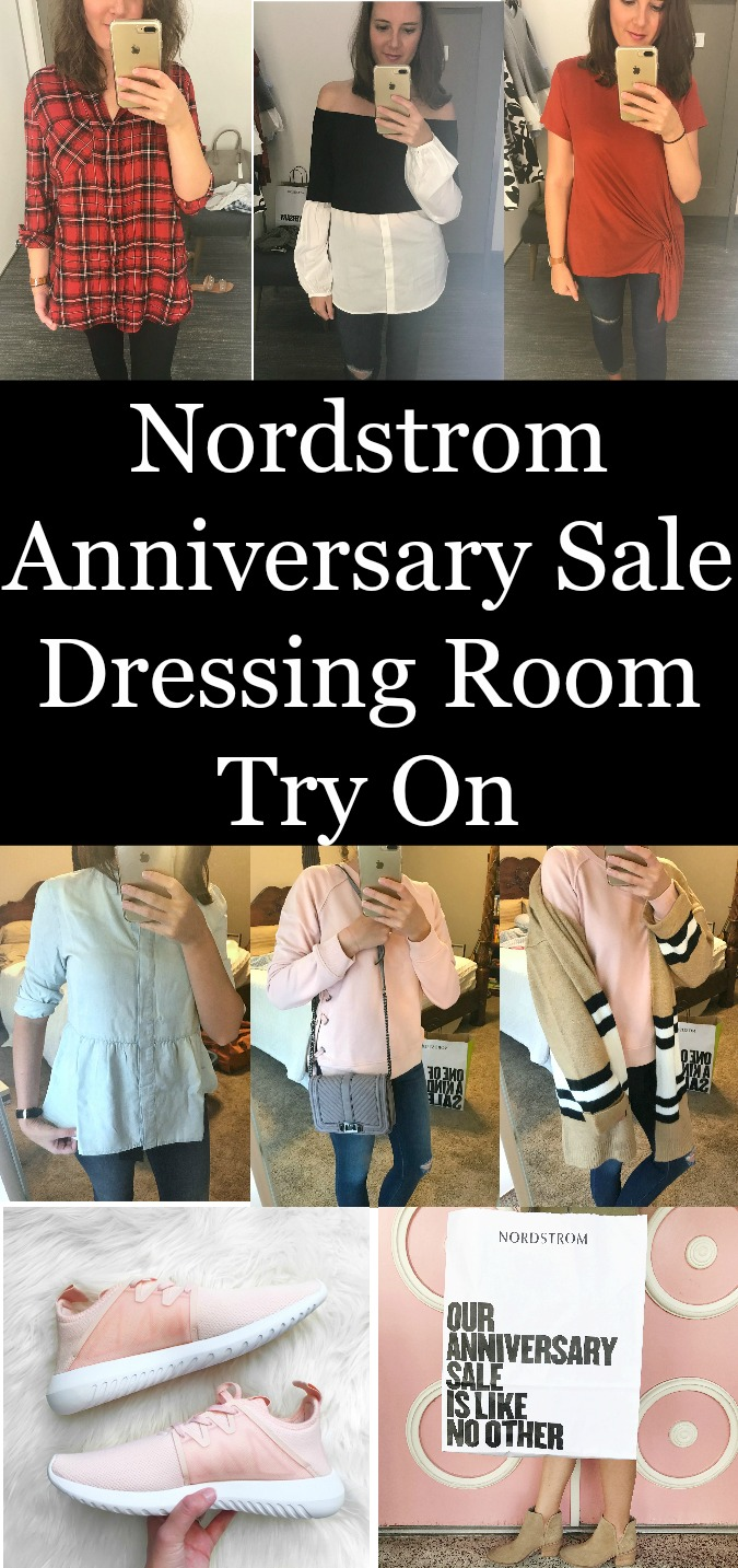 Nordstrom Anniversary Sale Dressing Room Try On