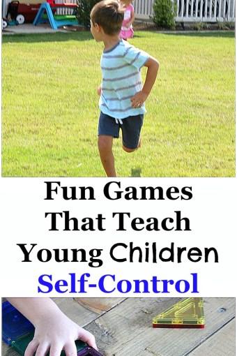 Fun Games that Teach Young Children Self-Control