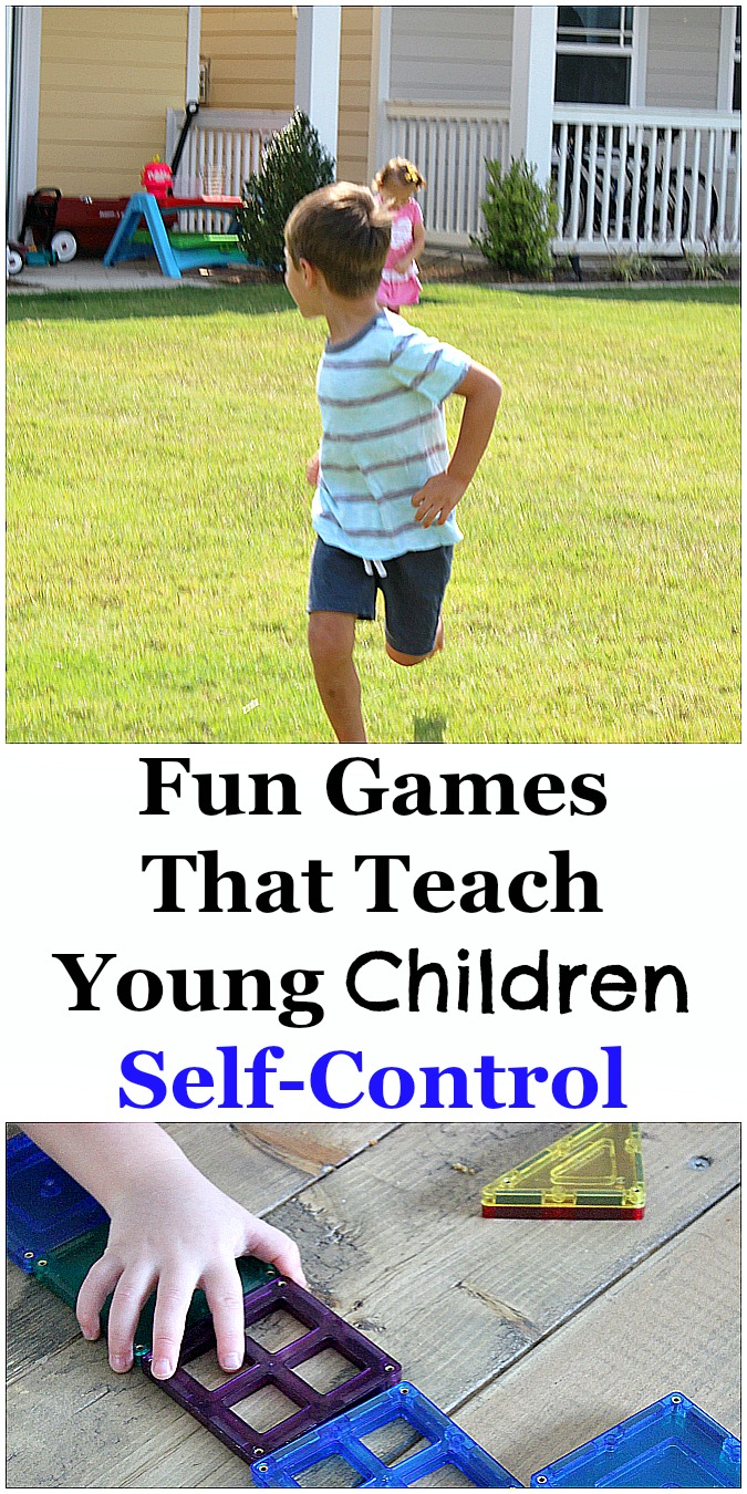 Fun Games that Teach Young Children Self-Control