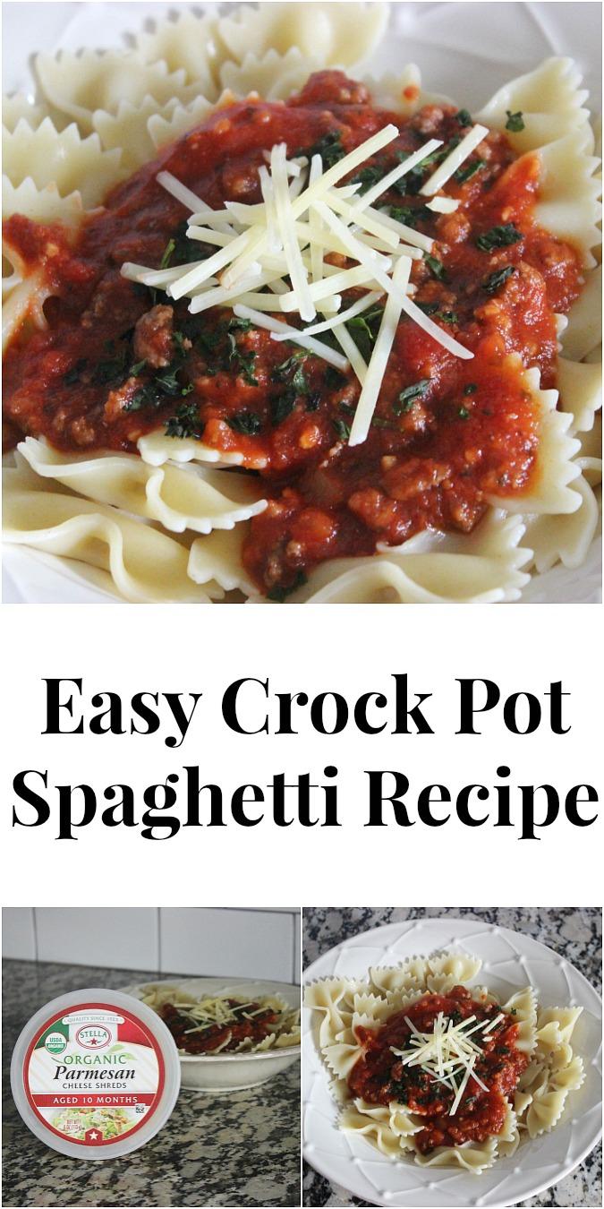 Easy Crock Pot Spaghetti Recipe- A Traditional Taste