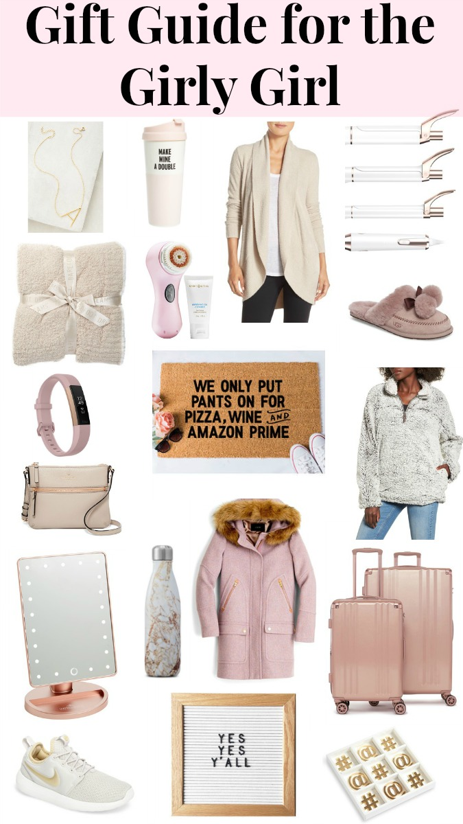 Gift Guide for the Girly Girl