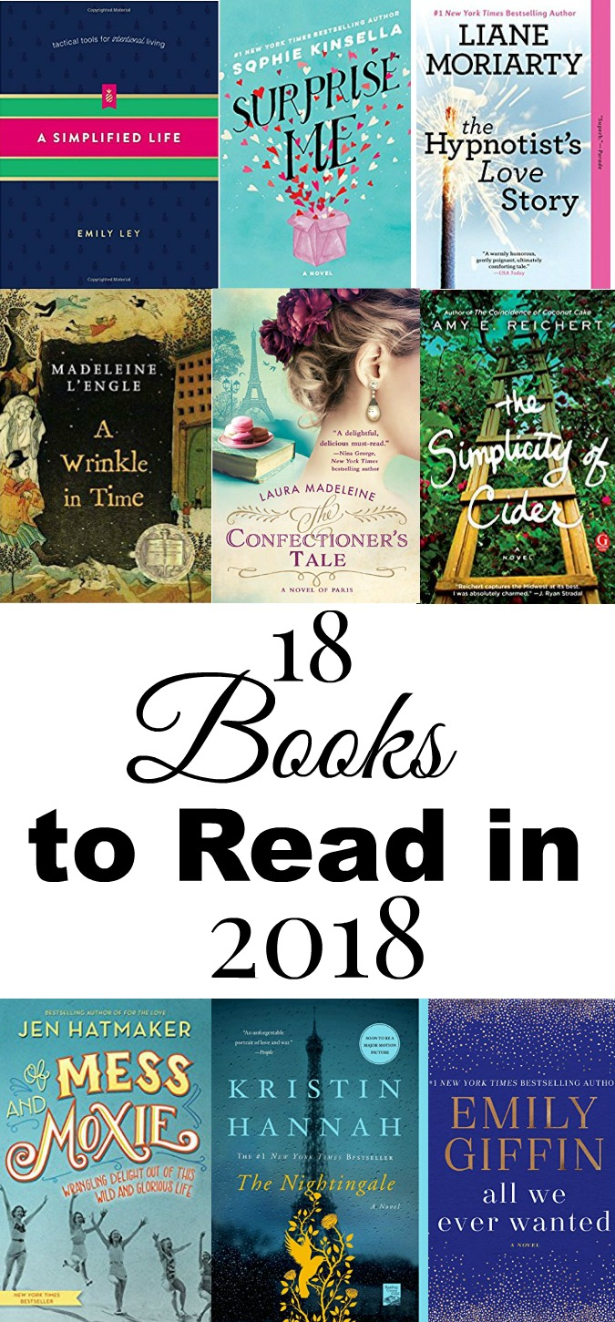 18 Books to Read in 2018 LoganCan.com