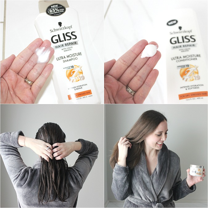 GLISS Hair Repair Tutorial