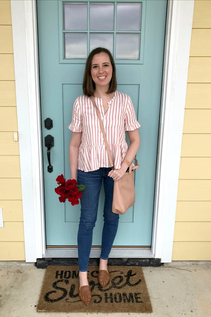 Madewell Jeans and Top LoganCan.com