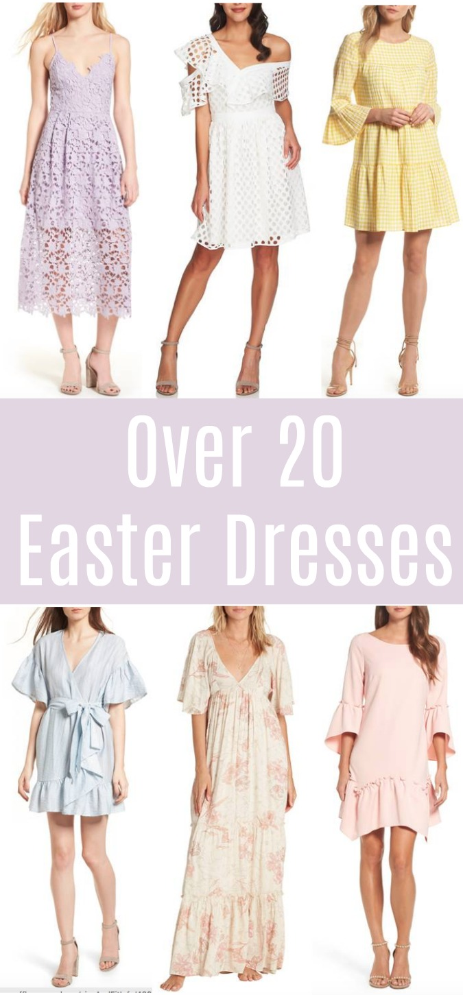 Over 20 Easter Dresses
