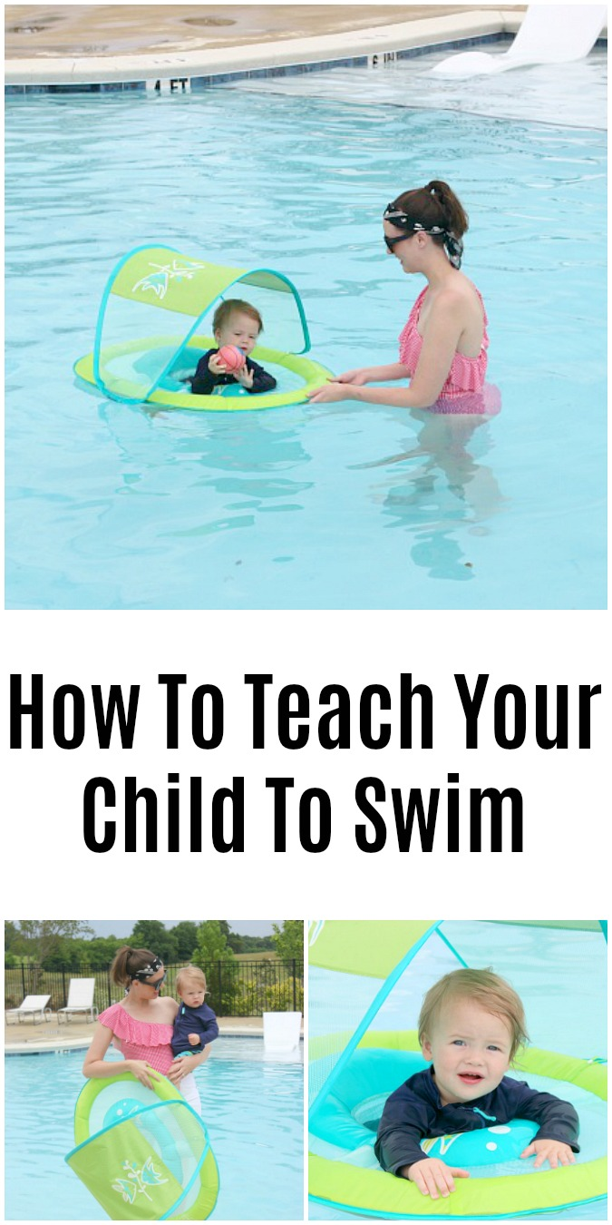 How To Teach Your Child To Swim LoganCan.com