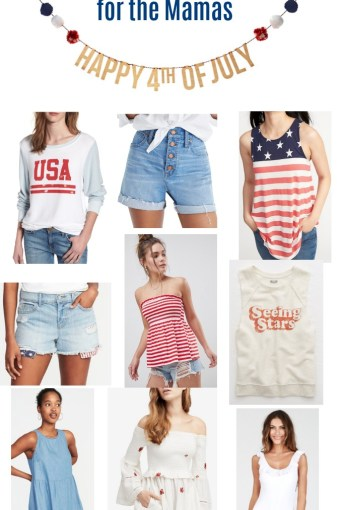 4th of July Outfits for Mama + Kids