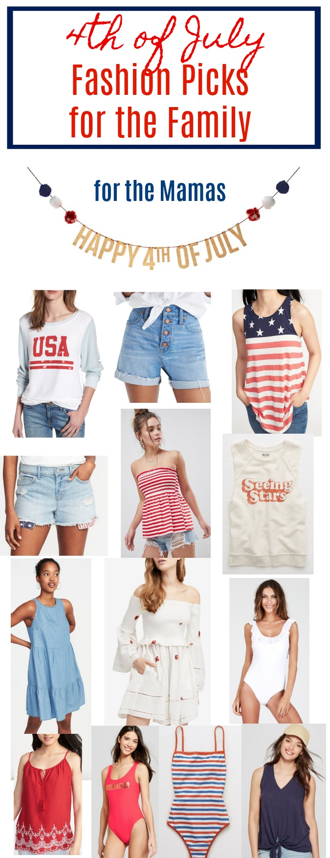 4th of July Outfits for Moms