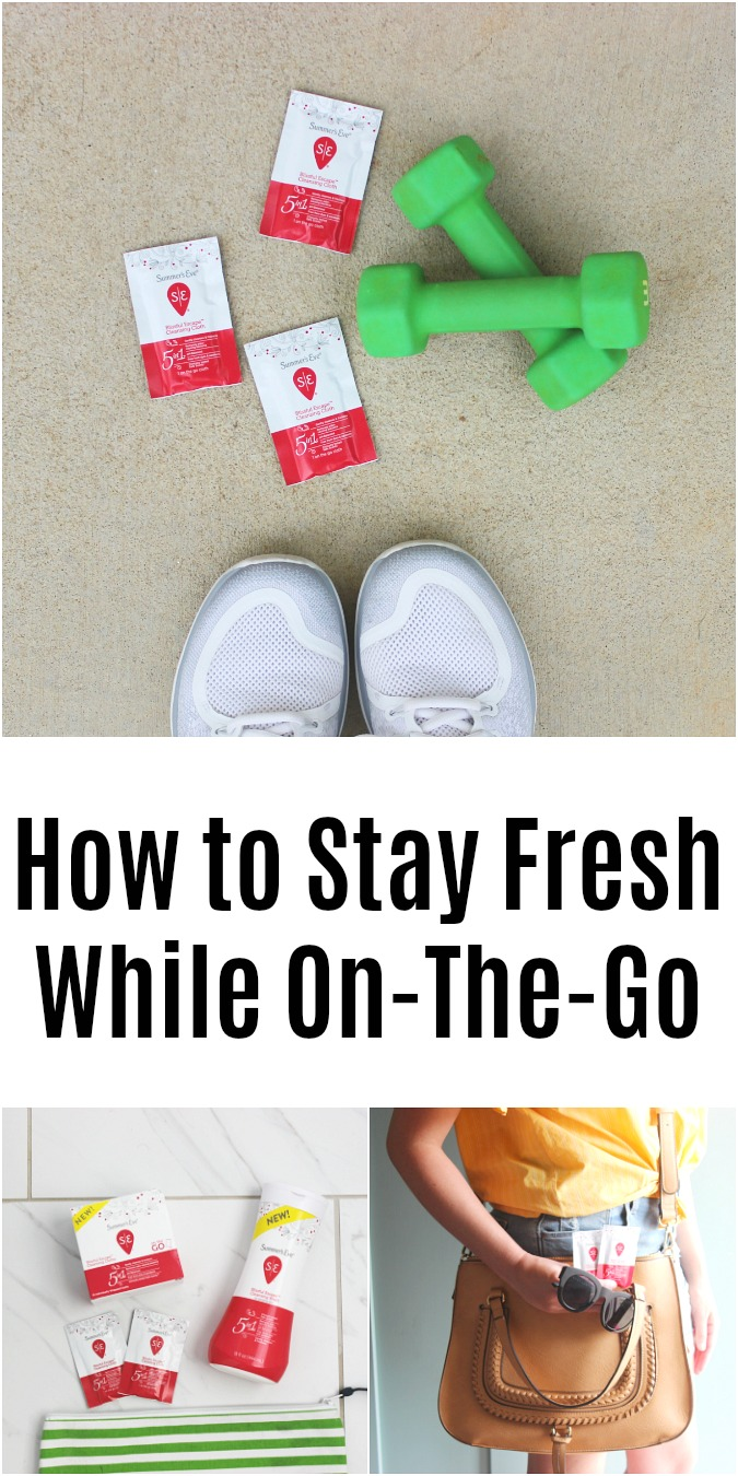 How to Stay Fresh While On-The-Go with Summers Eve at Target LoganCan.com