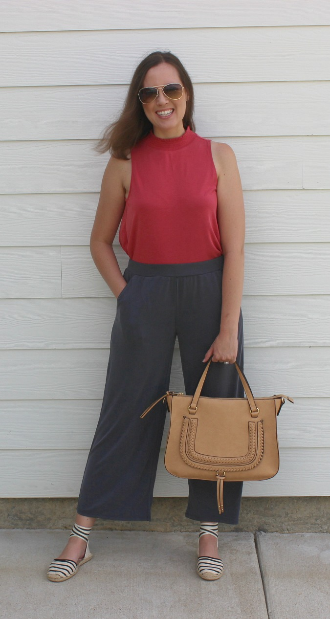 Wide Leg Pants and Tank
