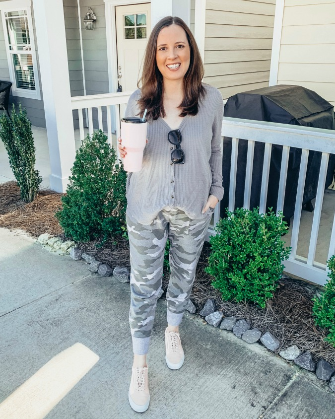 Weekly Outfits - Camo Joggers