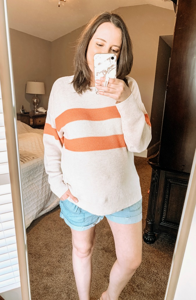 American Eagle Try On   Spring Sweater