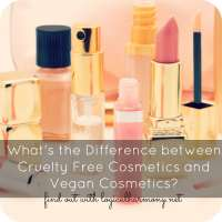 What's the Difference Between Cruelty Free and Vegan Cosmetics