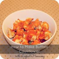 How to make Buffalo Cauliflower