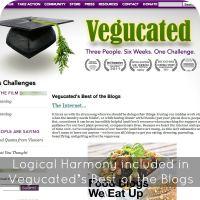 Logical Harmony included in Vegucated's Best of the Blogs