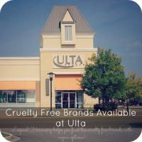 Cruelty Free Brands Available at Ulta