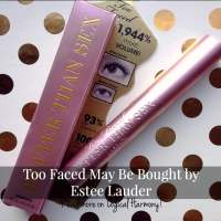 Too Faced May Be Bought by Estee Lauder
