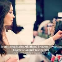 South Korea Makes Additional Progress Towards a Cosmetic Animal Testing Ban