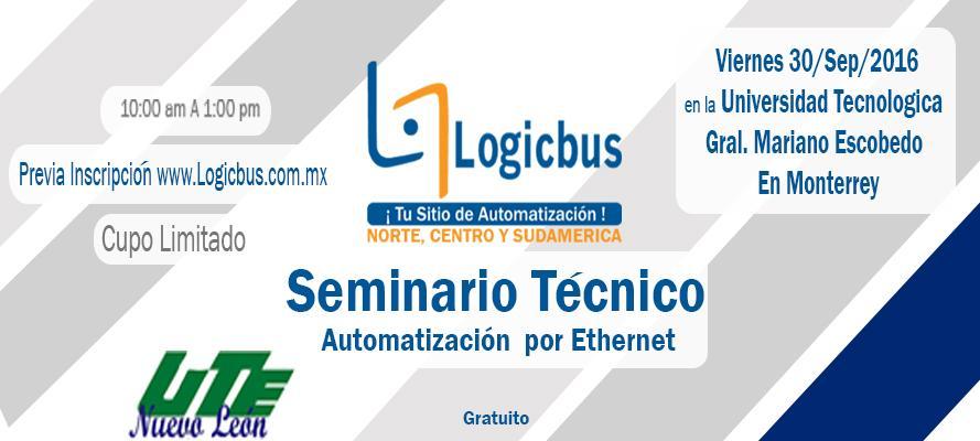 Seminario Técnico: Automatización por Ethernet
