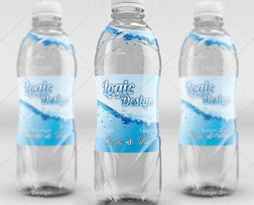 fancy beverage bottle