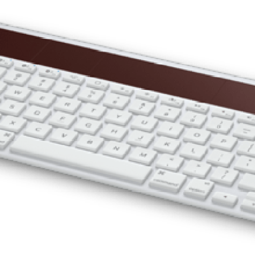 Logitech Wireless Solar Keyboard K760 shrinks but adds Bluetooth capabilities for iOS devices