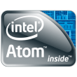Intel Atom logo vector