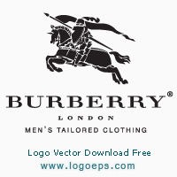 Burberry logo vector