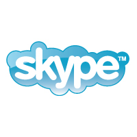 Skype logo vector