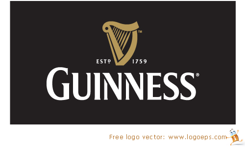 Guinness logo vector, logo of Guinness eps format