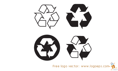 Recycling logo vector, logo of Recyclable, download Recycling logo,Recyclable, free Recycling logo