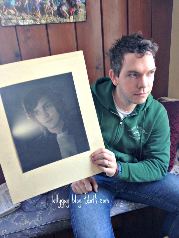Dad P.J. portrait