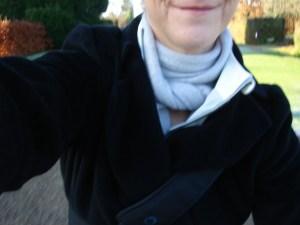 Jaeger Coat, Rapha Wind Jacket and cashmere scarf