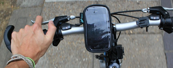 UltimateAddons iphone bike mount
