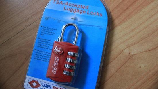 TSA Luggage Lock