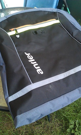 Antler bag review outside view