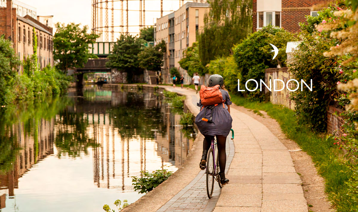 London route from Lost Lanes