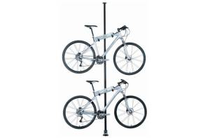 This Topeak stand saves space