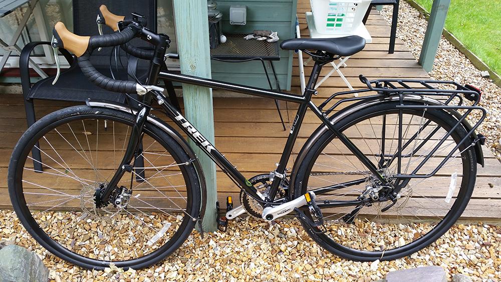 Trek 520 steel touring bike